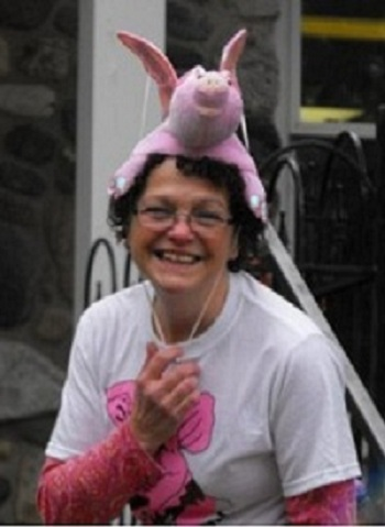flying pig hat photo