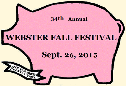 Webster Fall Festival logo